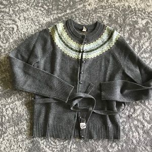 Jcrew Fair Isle Printed Sweater